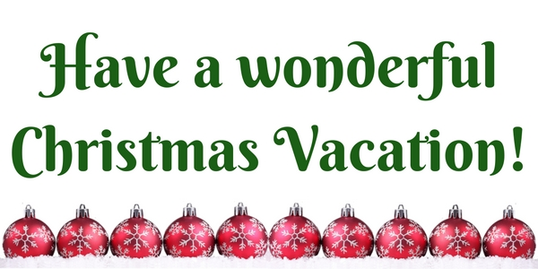 Z. Cougar News/Have a wonderful Christmas Vacation!.jpg