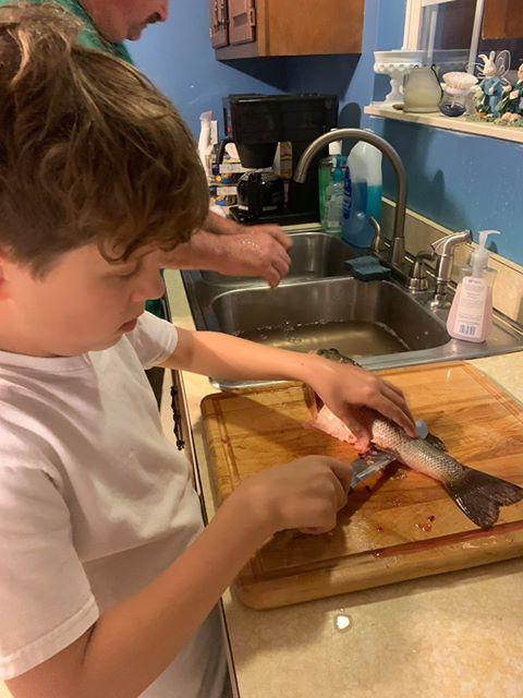 /6 Roth Fish slicing